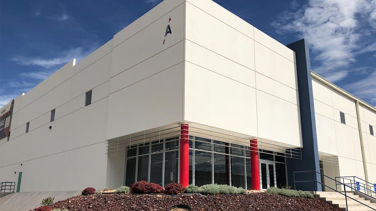 AeroTech Industrial Park Facade - Querétaro
