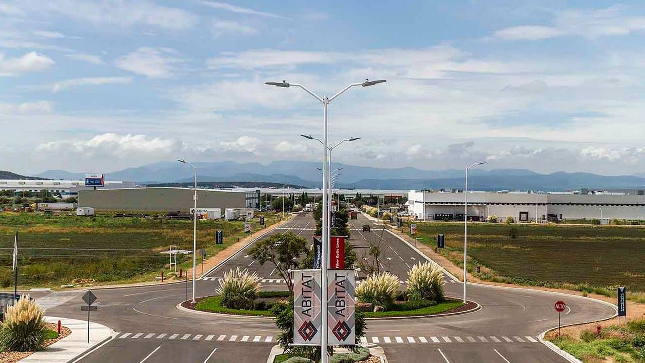 AeroTech Industrial Park Streets - Querétaro