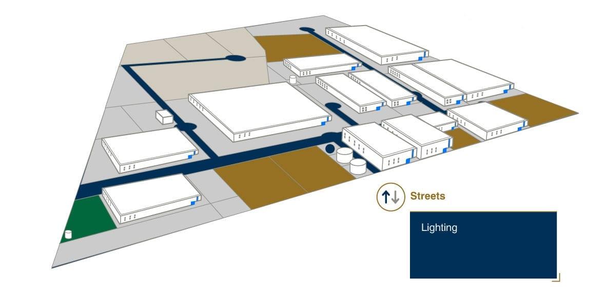 Streets - AeroTech Industrial Park - Querétaro