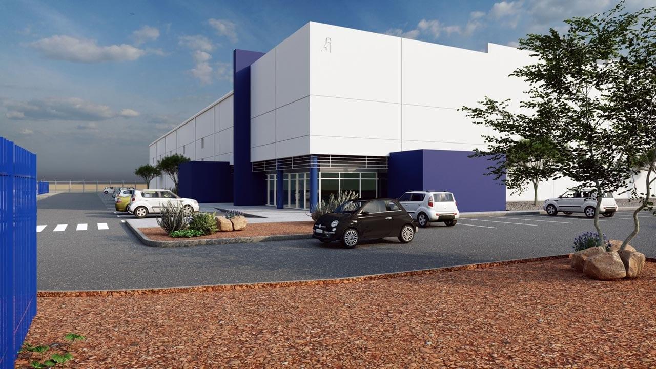 American Industries - Parquesur Industrial León Guanajuato Principal facade