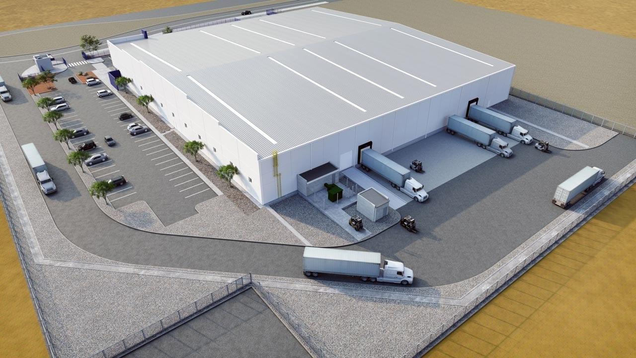 American Industries - Parquesur Industrial León Guanajuato Racks