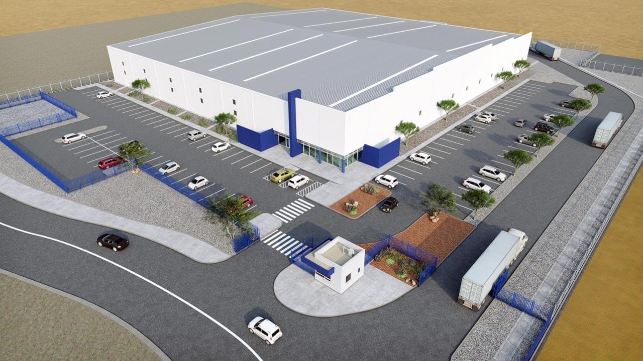American Industries - Parquesur Industrial León Guanajuato Air view