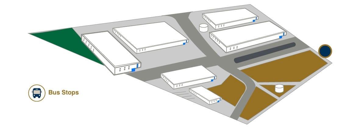 Bus stops - American Industries® - Parque Industrial Apodaca